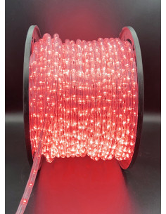 Hilo luminoso Red 50M