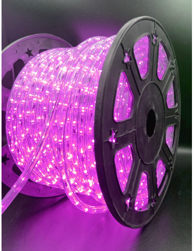 Hilo luminoso Pink 50M