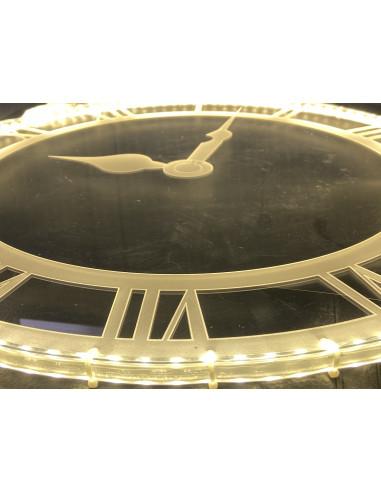 Reloj Vintage Acrilico Led